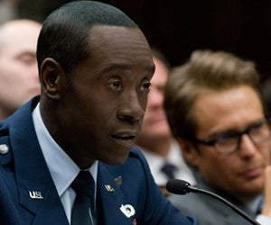 "Cheadle on Iron Man 2: ""It's More CGI Than Me"""