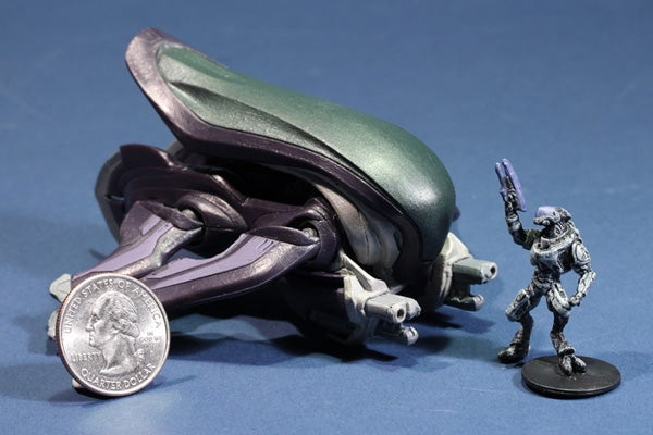 Tiny Halo Figures Designed For Giant Adult Hands