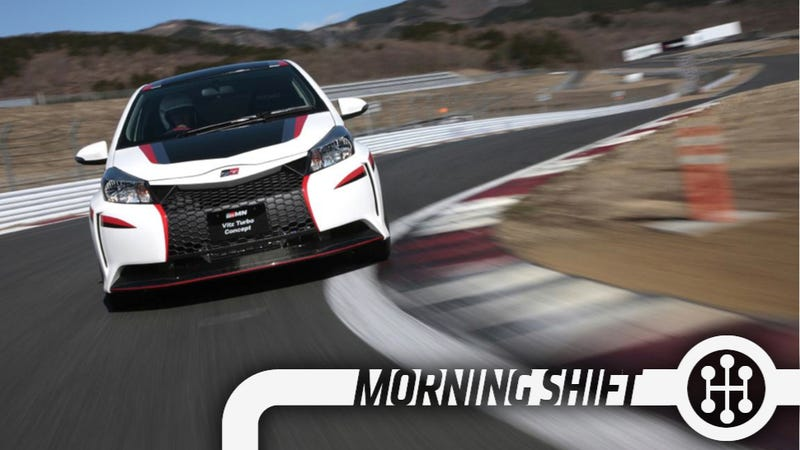 Toyota's Hybrid-R Concept Is A 400 Horsepower Hot Hatch