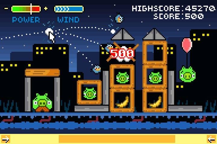 Retro Angry Birds Gallery