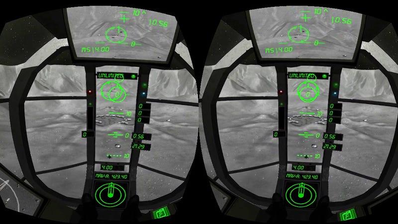 Oculus Rift Taught Me I'd Suck as a Space Ship Pilot