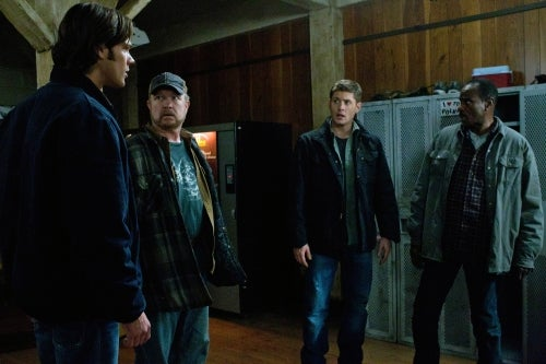 A little bit of the old worm-ear on Supernatural