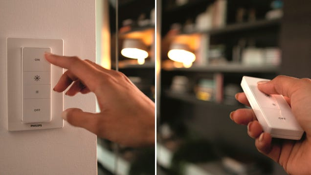 You Can Now Dim Philips' Hue Bulbs From a Wireless Remote