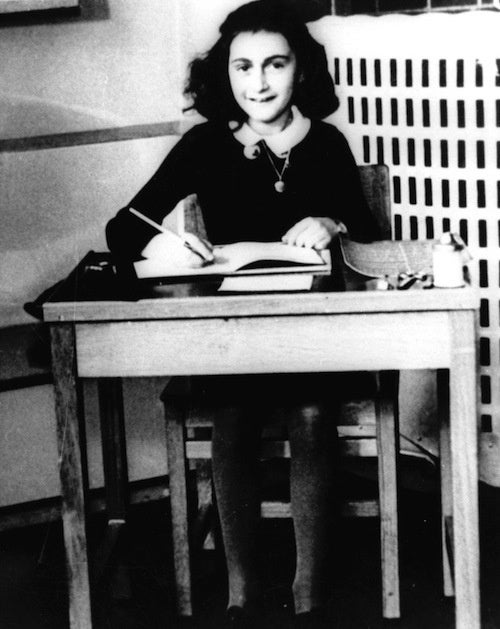 On Girls Who Loved Reading Anne Frank's Diary