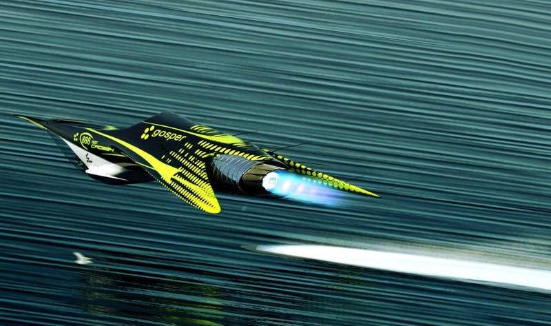I can't wait to see these cool racers flying over Earth's oceans