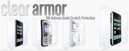 Clear Armor Brings Apache-Grade Scratch Protection to Your iPhone (But Will It Blend?)