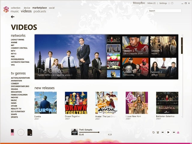 Zune 2.5 Update Brings TV Shows, More Social Networking, Improved Software Features