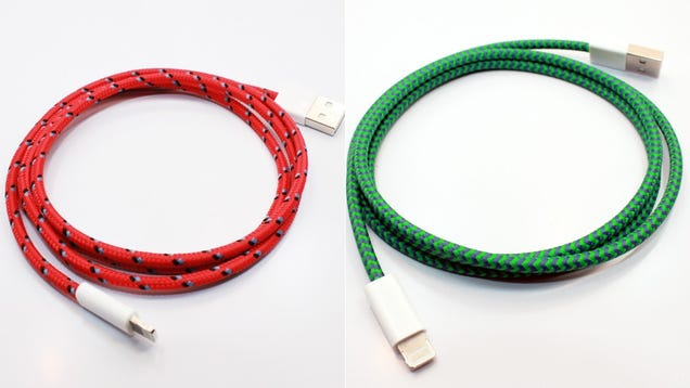 The Most Stylish iPhone Cables You Can Get Now Work with the iPhone 5