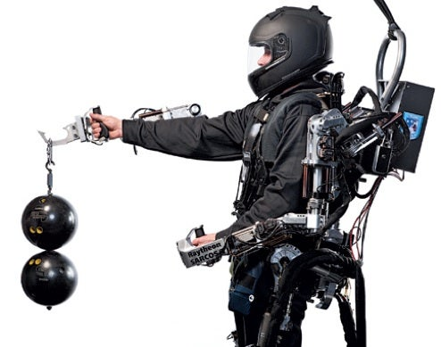 New Pictures of XOS Exoskeleton Send Sci-Fi Shivers Down Our Spines