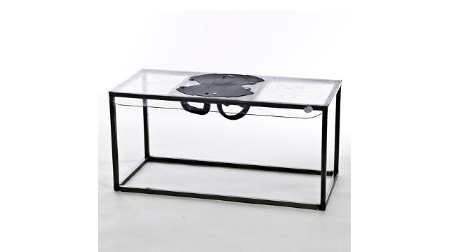 Be Ready for 2012 with This Crowd-Busting Riot Shield Table