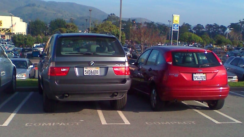 What Car Would Make You Park Like An Asshat?
