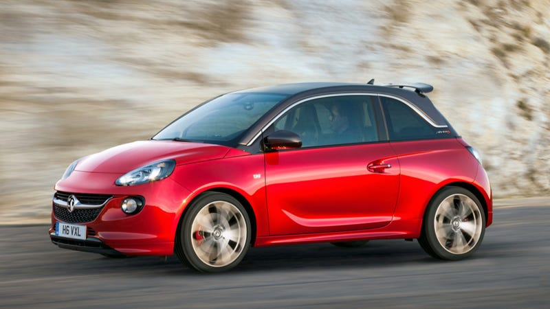The Opel Adam S Is A 150 Horsepower Micro Abarth-Fighter