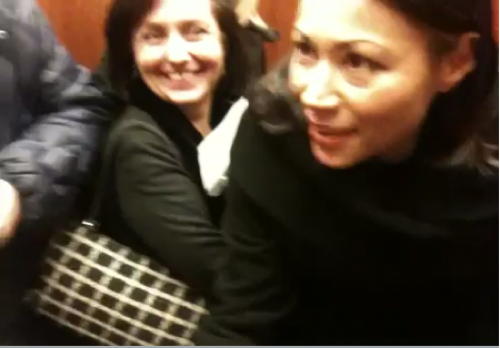 Ann Curry Trapped in New York Times Elevator for One Well-Documented Hour
