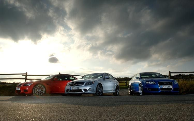 Comparing M vs. RS vs. AMG Power