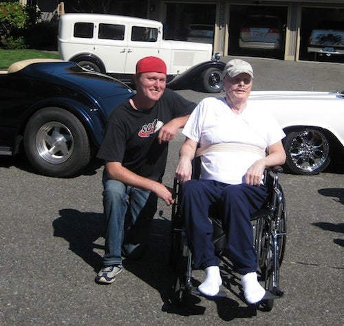 Dying Man's Last Wish Granted By Hot Rod Modder