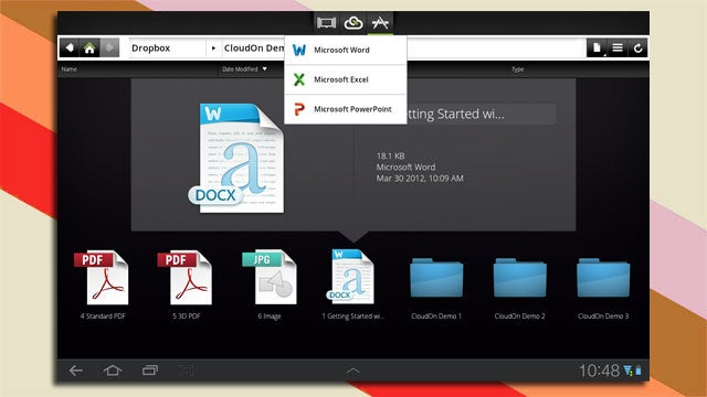 CloudOn Puts Microsoft Office on Android Tablets for Free