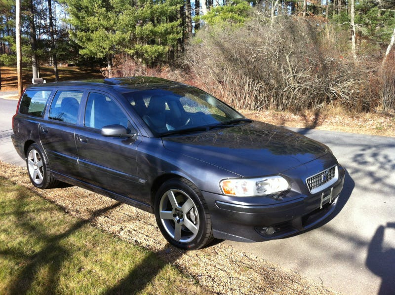 Found On The Ebays - I Can't Believe Its a Swede: Volvo V70R