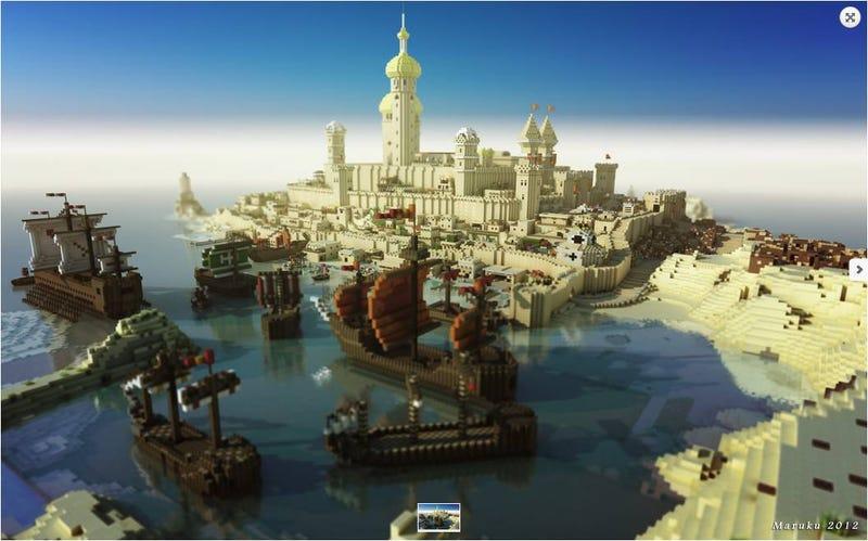 El juego Minecraft se convierte en un impresionante fenómeno de masas
