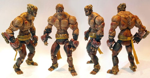 Enslaved Action Figures Look As Dirty As The Apocalypse
