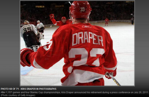 This Is How Kris Draper Ends: Not With A Bang But A Premature Photo Caption