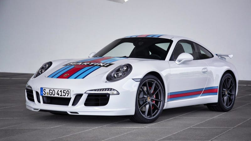 Sweet Merciful Crap: Porsche Is Building A Martini-Liveried 911