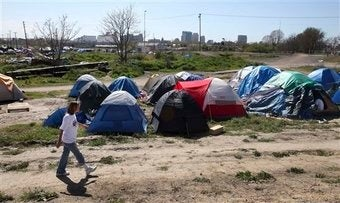 Are Tent Cities Springing Up Due To The Recession?