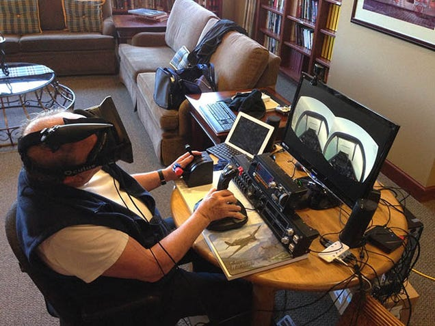 Aging Veterans Are Using Oculus Rift To Fly War Planes Again