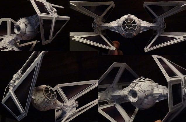 Japanese craftsman creates perfect sci-fi ship replicas using just paper