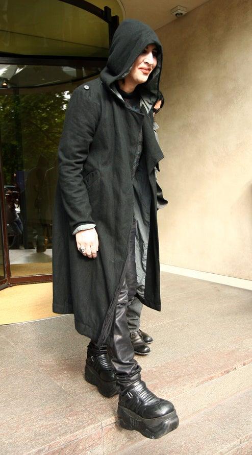 Marilyn Manson? Or Eddie Munster?