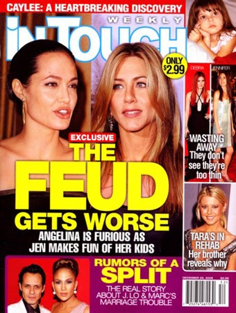 This Week In Tabloids: Jilted Wives, Jingle Bells & The Return of J.Lo