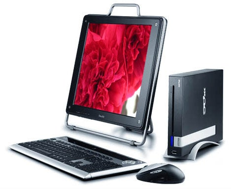 Shuttle mini x100: Book-Sized Desktop PC