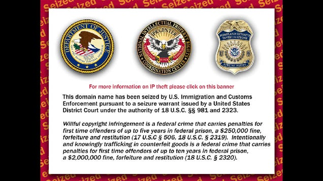 DoJ Seizes Domains Over App Piracy For the First Time Ever