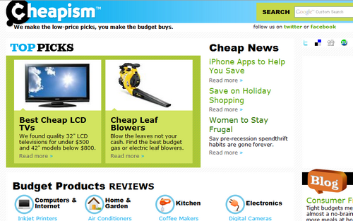 """Cheapism Helps You Find the Cheapest """"Best Buys"""""""