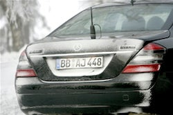 Mercedes Readying Hybrid S400