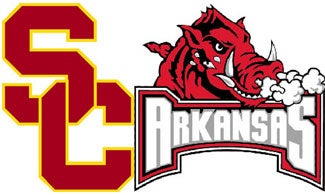 NCAA Pants Party: USC Vs. Arkansas