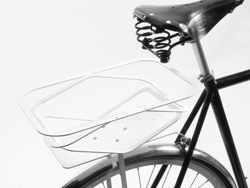 A Flat-Packed Bicycle Basket