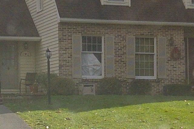 Someone Smashed A Window At Jerry Sandusky's House
