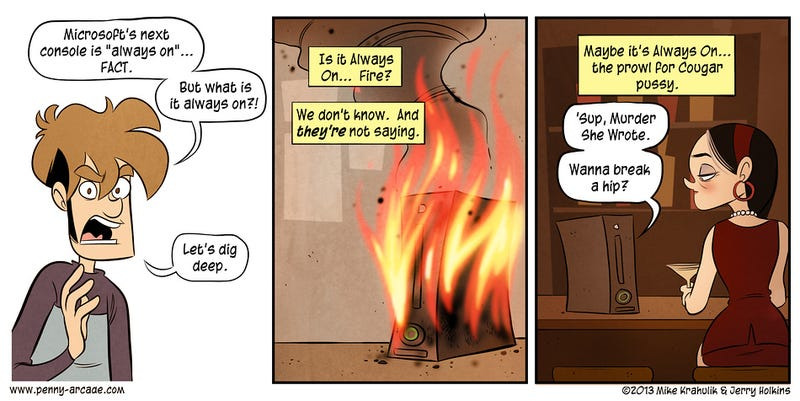 Sunday Comics: Fighting Fire with Fire
