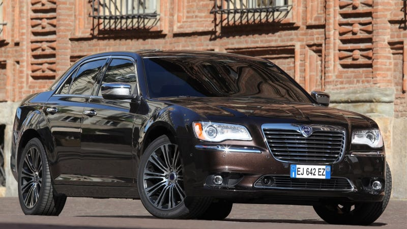 The Lancia Thema Diesel May Come Back To America In Chrysler 300 Form