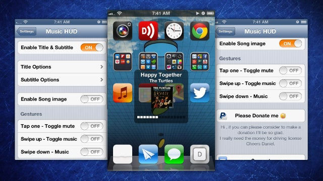 Music HUD Adds Useful Info to Your iPhone's Volume Display