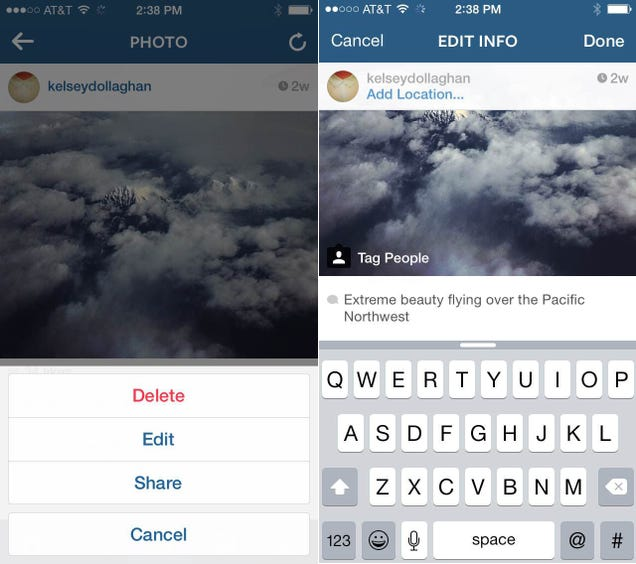 you can finally edit your embarrassing typos on instagram