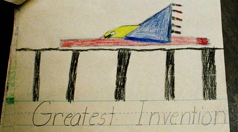 1968 Time Capsule Opened Prematurely, Robbing Future of Cute Drawings