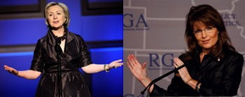 "Hillary And Sarah: The ""Bitch"" And The ""Ditz"" Of American Politics"