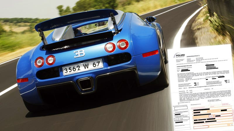 The Eight Biggest Speeding Tickets Ever Issued