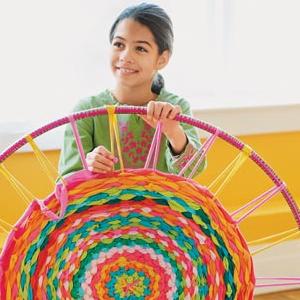 Create A Hula Hoop Rug