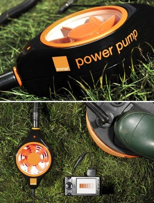 The Power Pump Charges Your Cellphone With Air Pressure