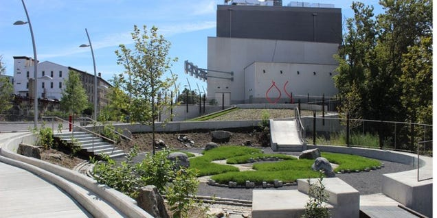 Philadelphia's Newest Park Is Built on Top of a Sewage Overflow Tank