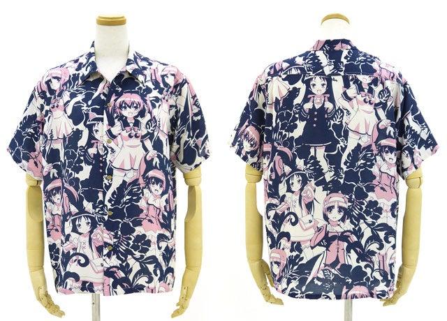 Hawaiian Shirts Covered with Anime Girls