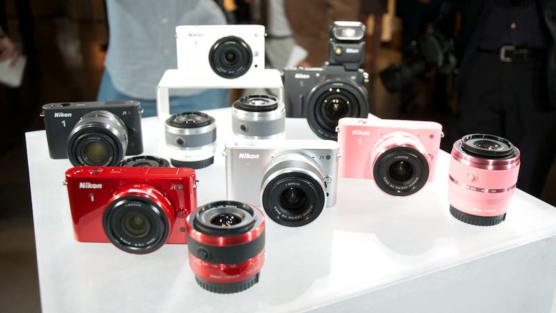 Nikon 1: A Tiny Camera With Interchangeable Lenses That's Crazy Fast (or Crazy Slow)