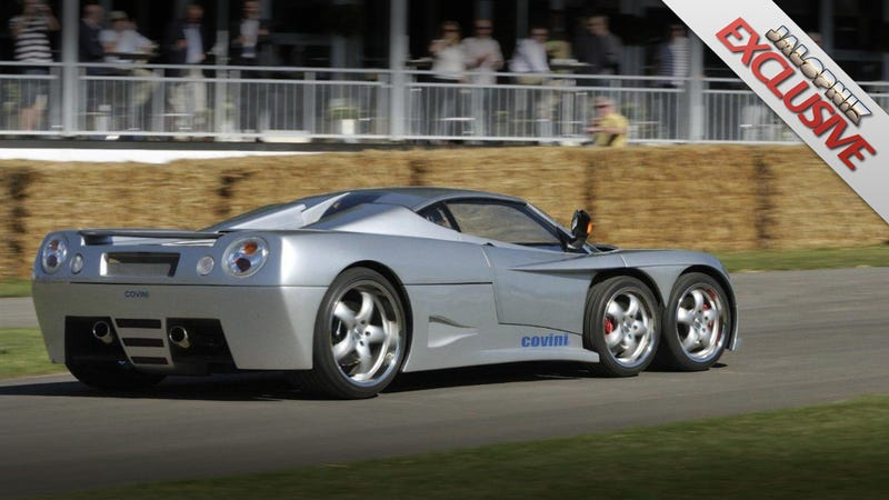 Covini Six-Wheeled Supercar: Exclusive First Drive
